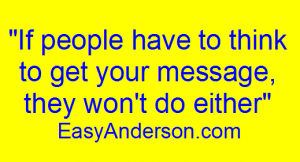 If people that to think EasyAnderson.com